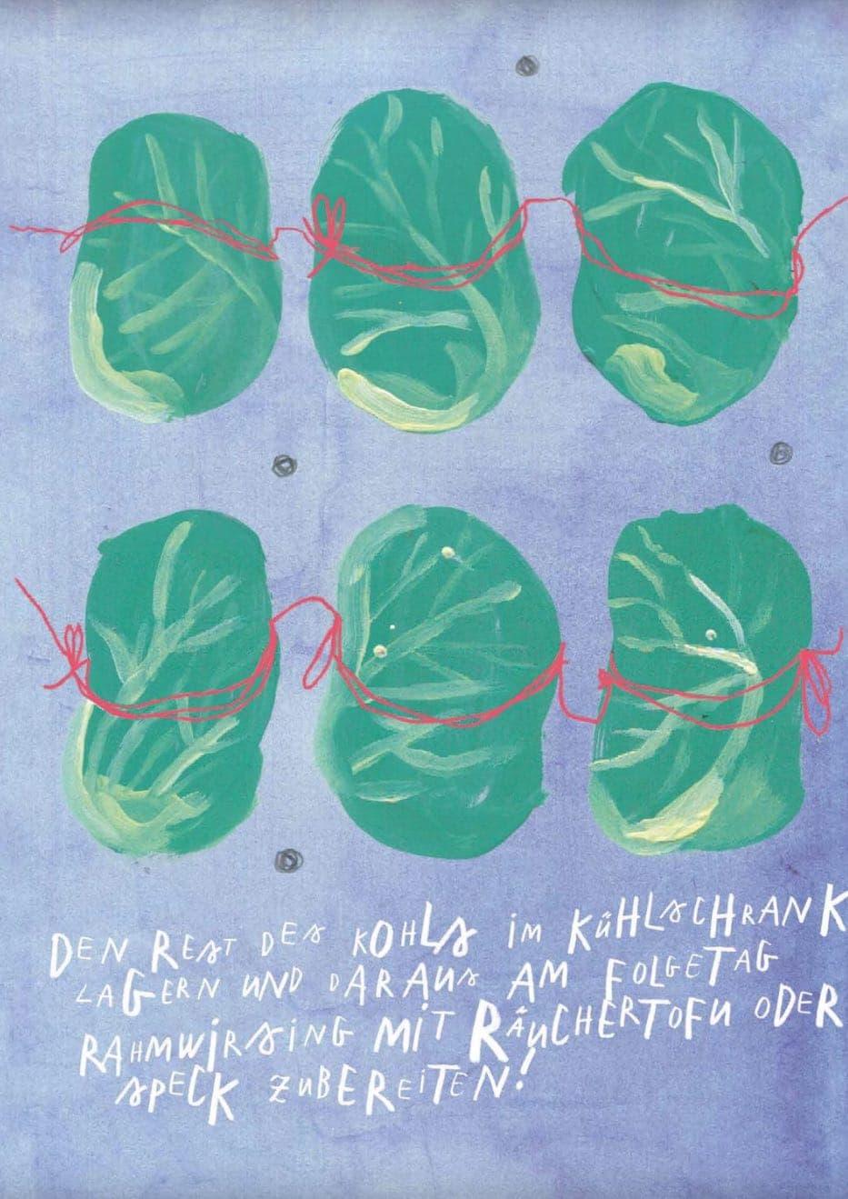Schoenes Kochbuch Deutschland regional mit Illustrationen