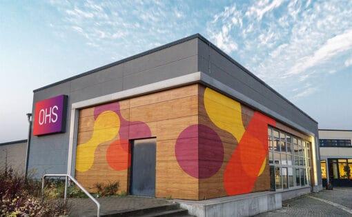 Branding für Schulen Otto Hahn Schule