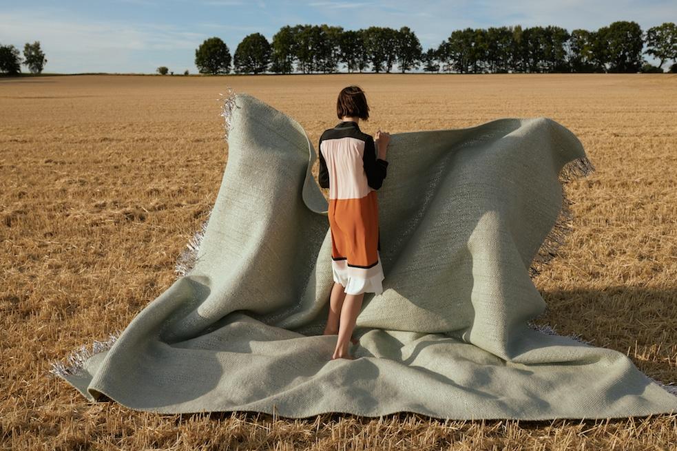 Fotografin Anna Daki Nomad Teppich-Kampagne