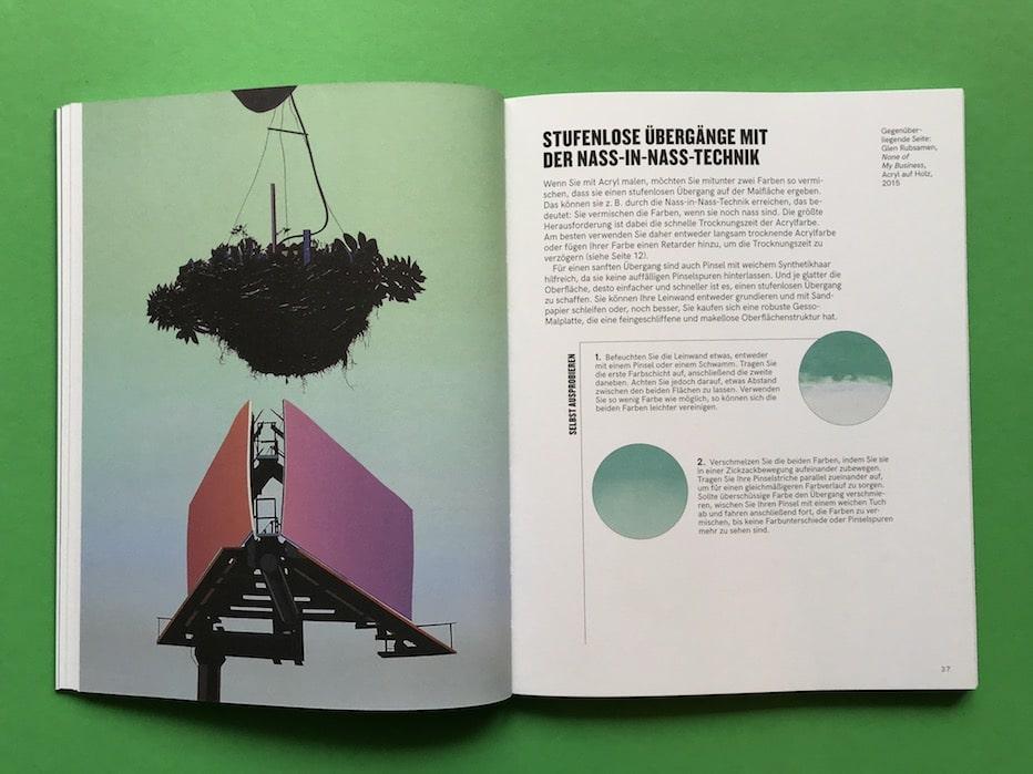 Handbuch Acryl-Malerei Nass in Nass