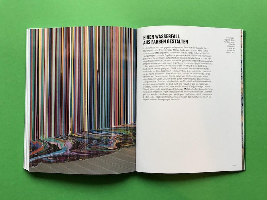 Handbuch Malen mit Acryl Fluid Art