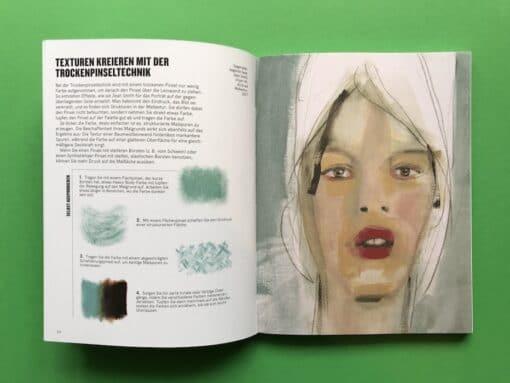 Handbuch Malen mit Acryl Texturen