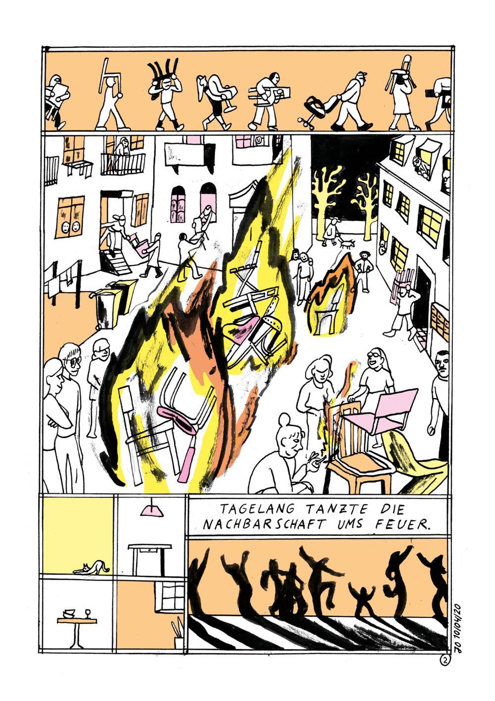 Jolanda Obleser Comic-Zeichnerin
