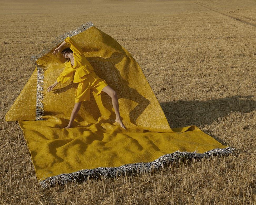 Modefotografie Teppich-Kampagne Nomad