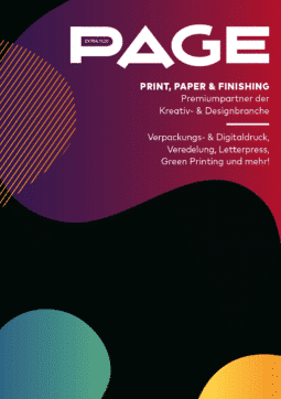 Produkt: Download PAGE Booklet EXTRA Print, Paper & Finishing