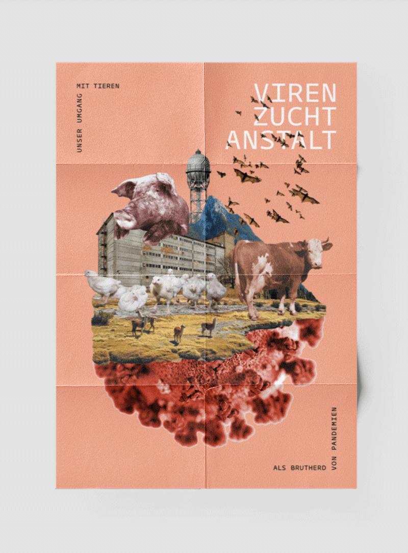 Virenzuchtanstalt Plakatseite