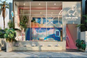 Shop-Design Dr. Oetker pudu pudu Los Angeles