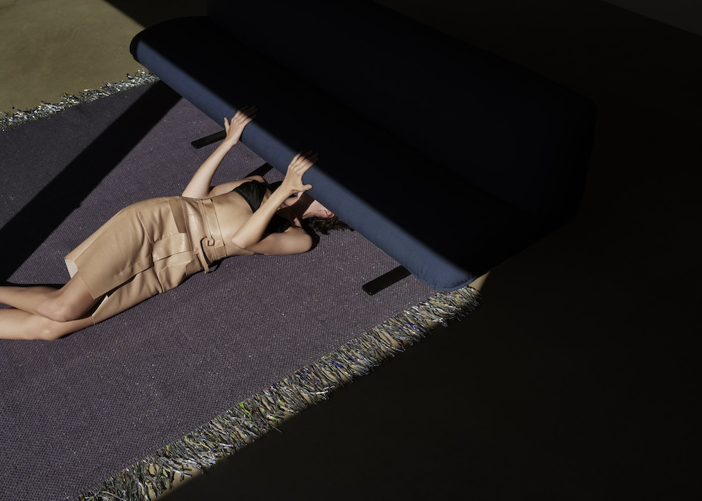 Teppiche Modefotos Kampagne 2020 Anna Daki