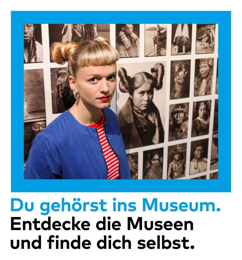 Bildidee Kampagne Zürcher Museen Heads Agentur