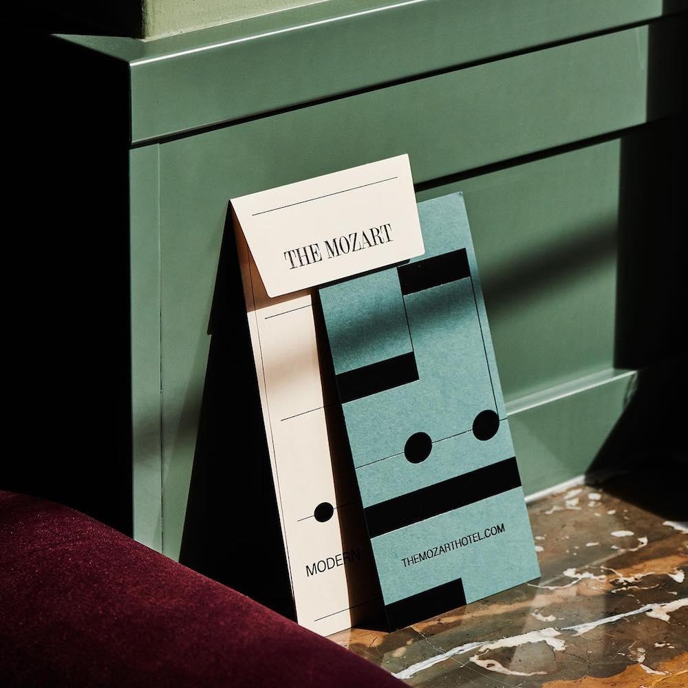 Branding Hotel Mozart Studio Bruch—Idee&Form