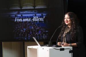 Dörte Spengler-Ahrens auf der ADC Jahreshauptversammlung 2020