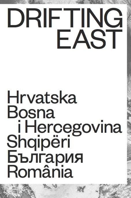 Buchcover Schwarzweiß Drifting East