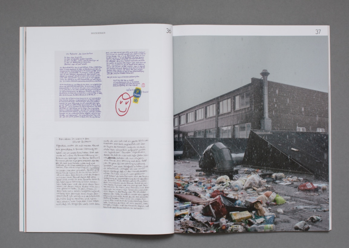 Ingmar B. Bölting Foto-Essay für das Magazin »Dummy«