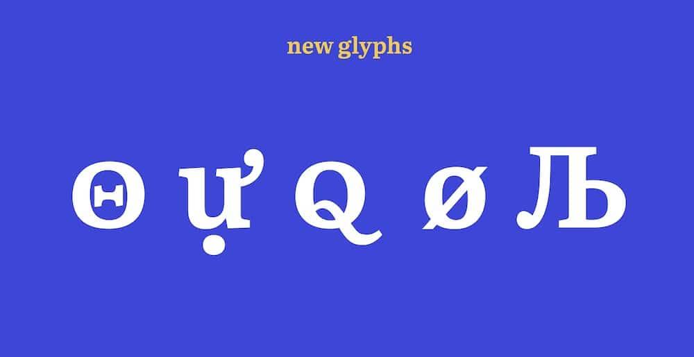 LiterataGlyphen