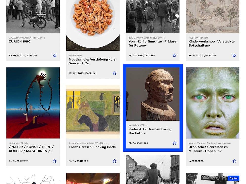 Website Museen