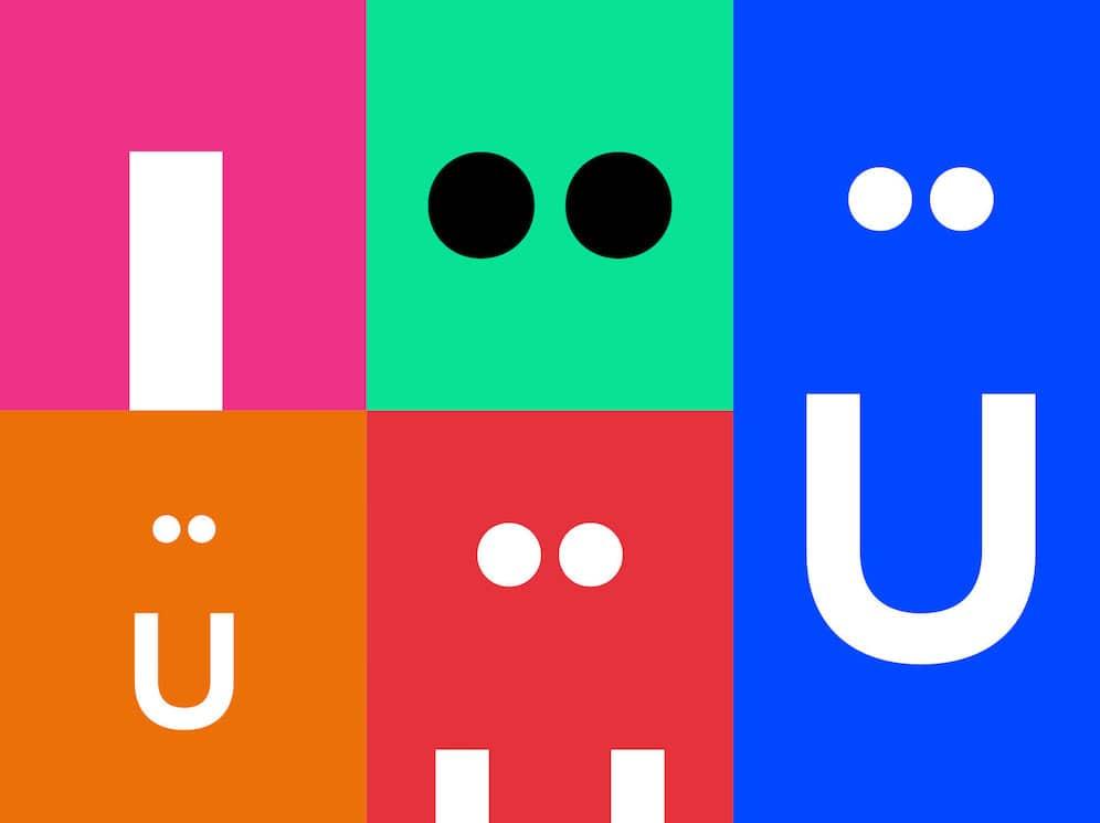 Branding Logodesign buntes Farbspektrum