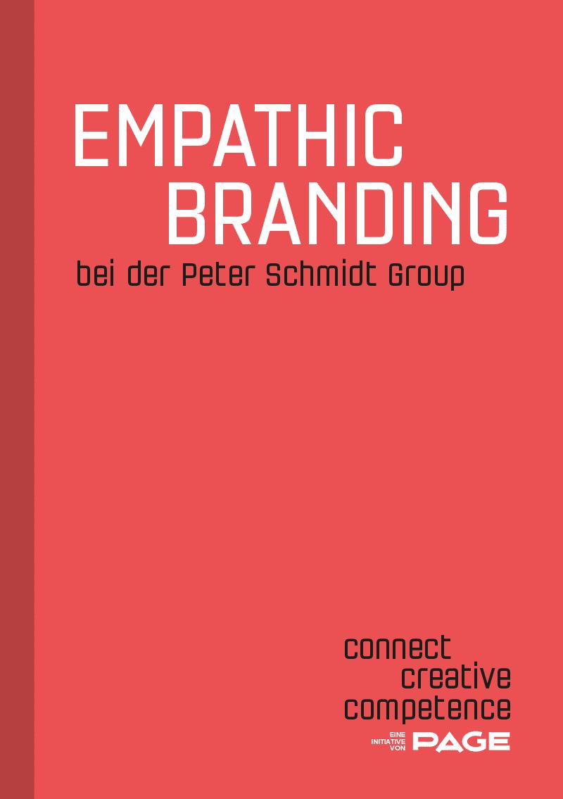 Produkt: Connect Booklet »Empathic Branding bei der Peter Schmidt Group«