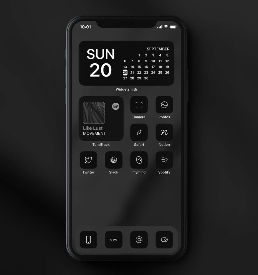iOS 14 icons Schwarzwei0