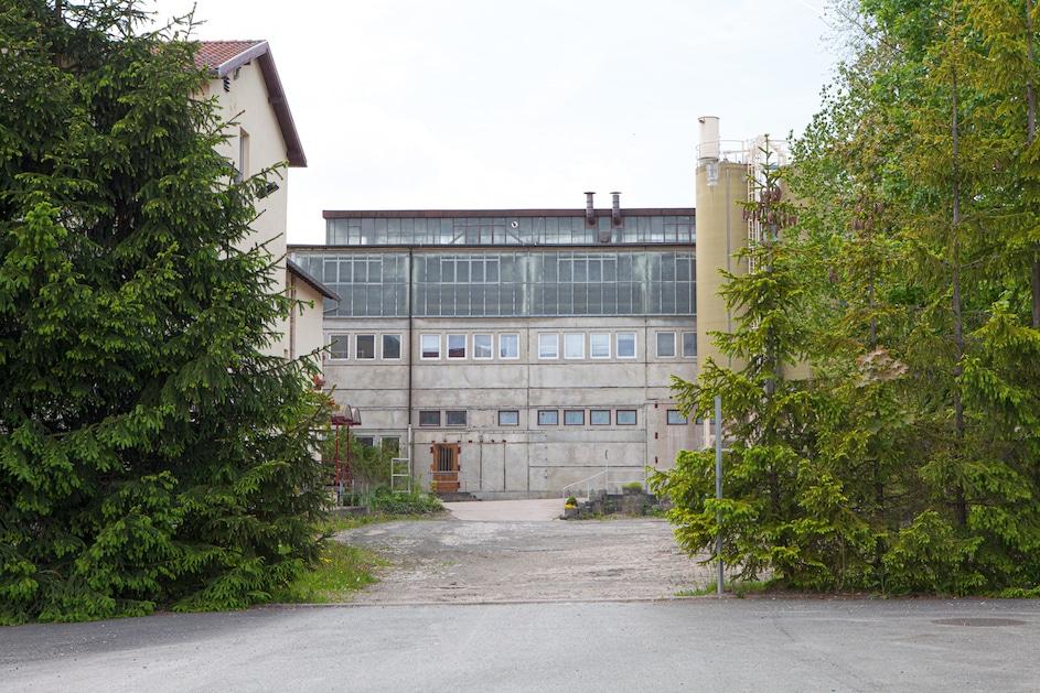 Weimarer Porzellan verlassene Fabrik Foto Susanne Katzenberg