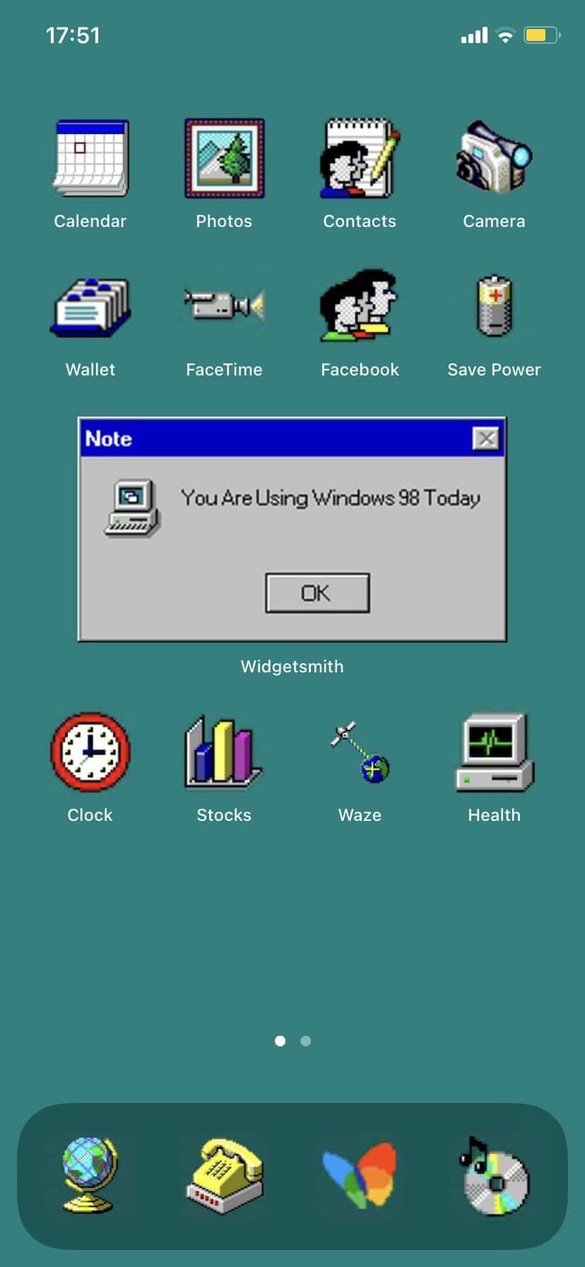 Windows-98 ios14 Homescreen-Icons
