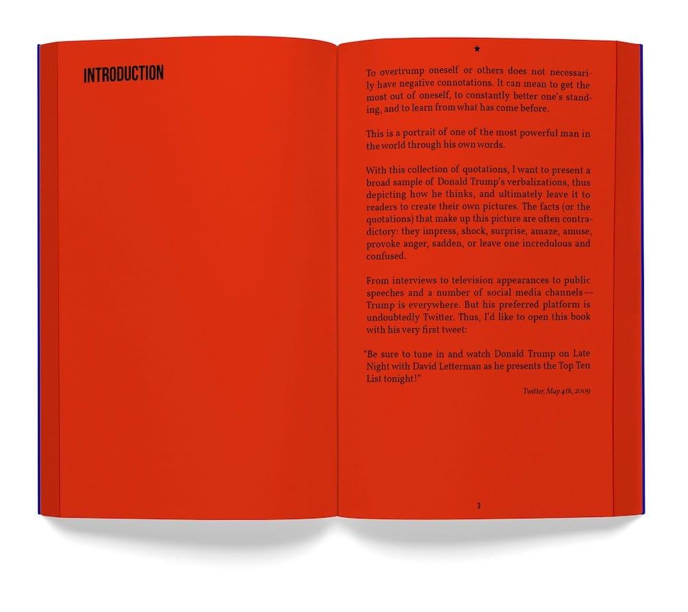 Designaktivismus Trump-Buch Sven Lindhorst-Emme