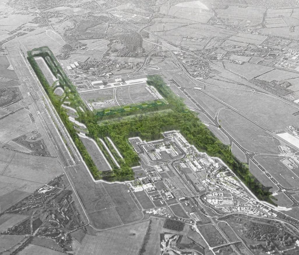 Redesign Flughafen BER Wohnen statt Fliegen Klimawandel