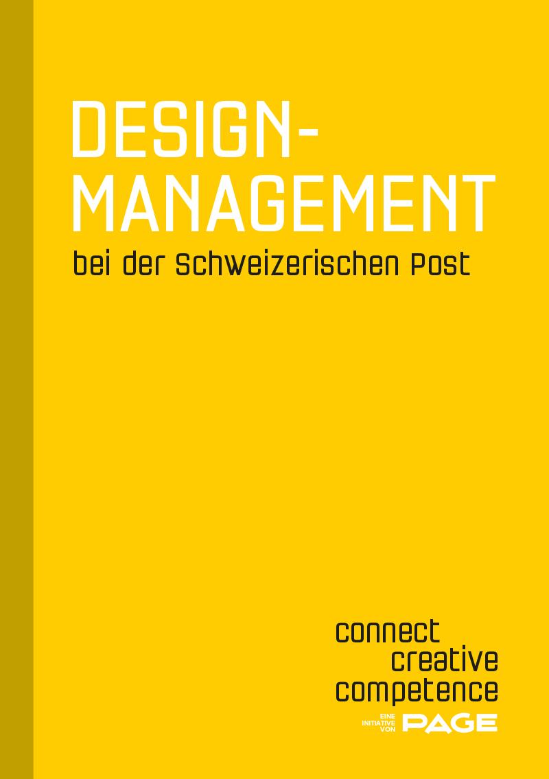 Produkt: Connect Booklet »Designmanagement bei der Schweizerischen Post«