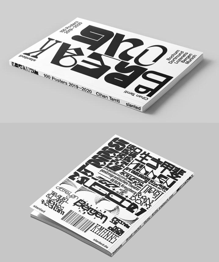 Plakatdesign mit experimenteller Typografie
