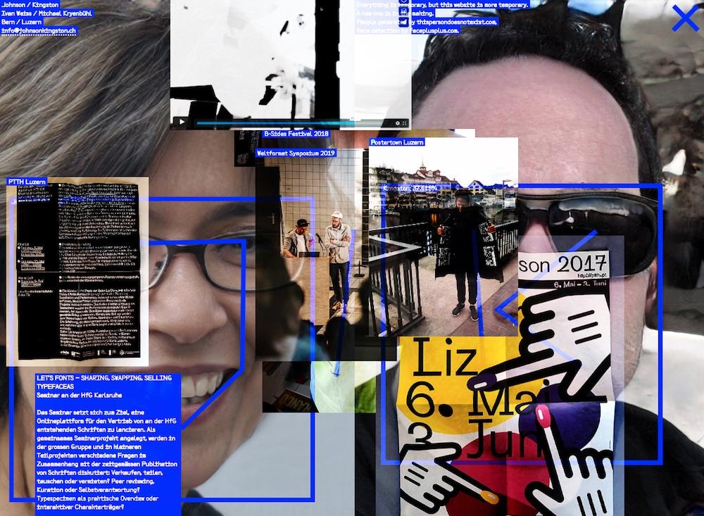 Portfolio-Website Designstudio Schweiz