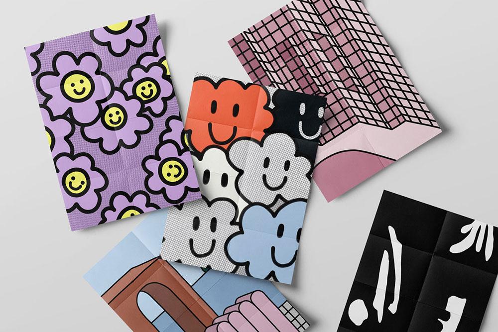 Freie Illustrationen von Studio Biro