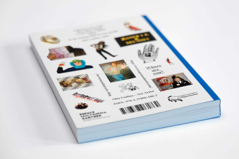Olia Lialina Net Artist Rückseite Sticker