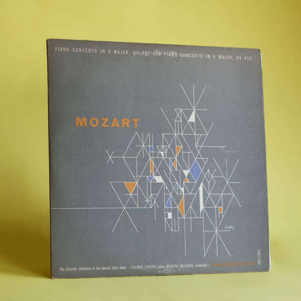 Modernistisches Design Platten-Cover