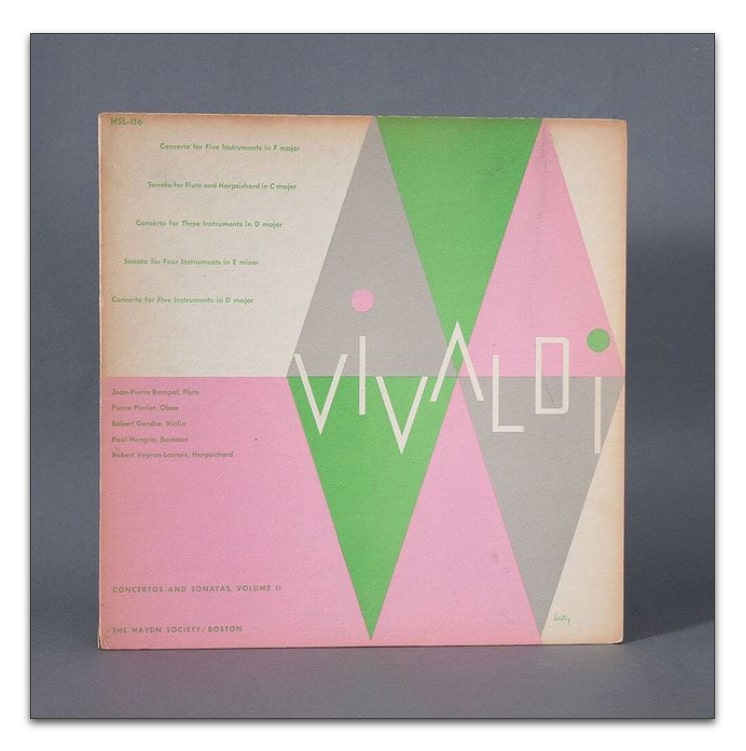 Platten-Cover Alvin Lustig