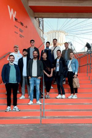 Ausstellungsdesign, Leitsystem: Bräutigam & Rotermund für Hamburger Tennisstadion Am Rothenbaum