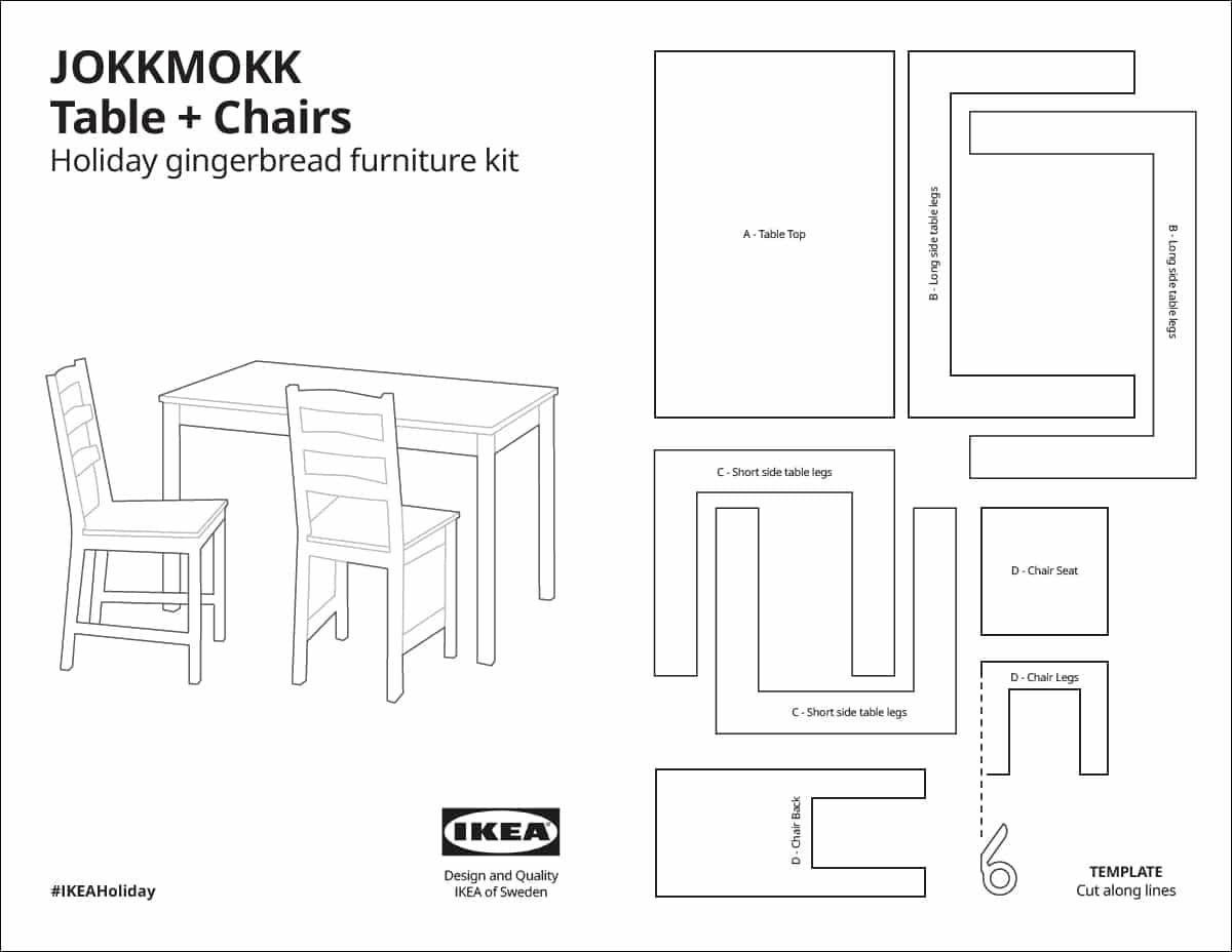 IKEA Kampagne Weihnachten Lebkuchenhaus