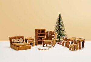 IKEA Möbeldesign aus Lebkuchen