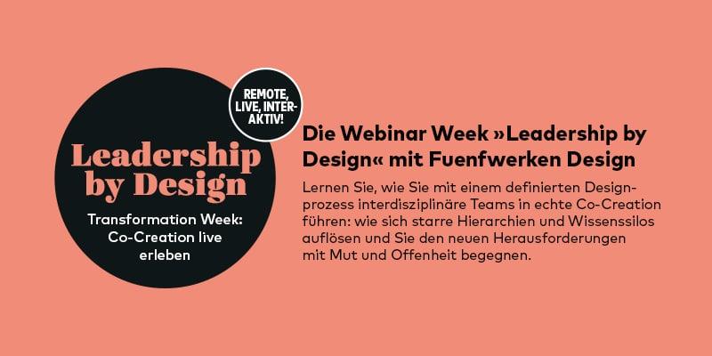 Webinar-Week zu Co-Creation
