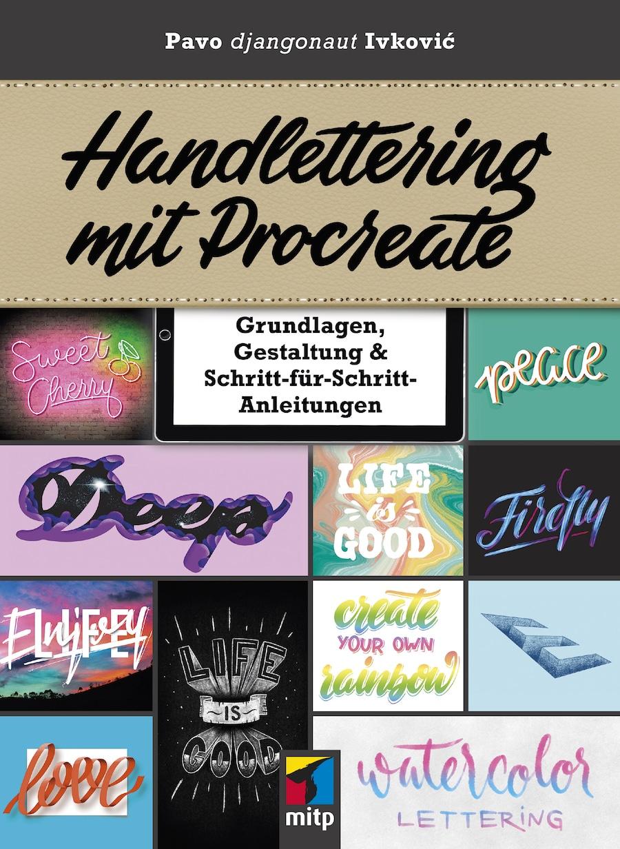 So geht Handlettering mit Procreate Handbuch