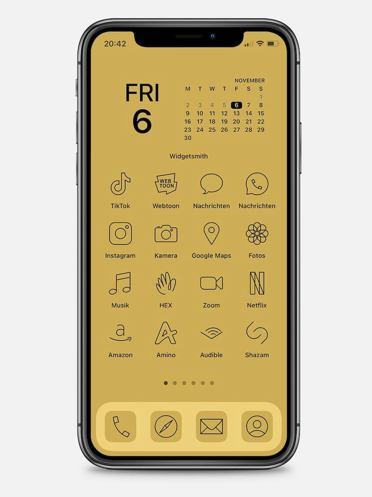 App-Icons für iPhone Homescreen