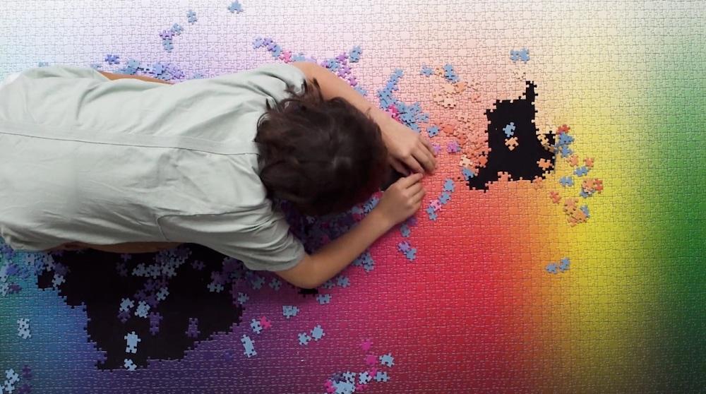 5000 Colours Puzzle von Clemens Habicht