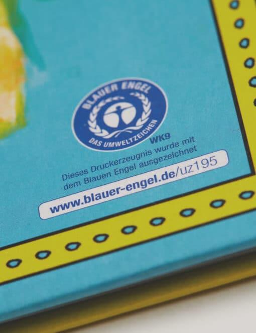 Logo Blauer Engel für Printprojekte