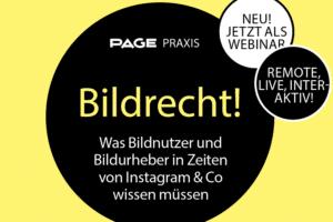 Webinar zum Thema Bildrecht