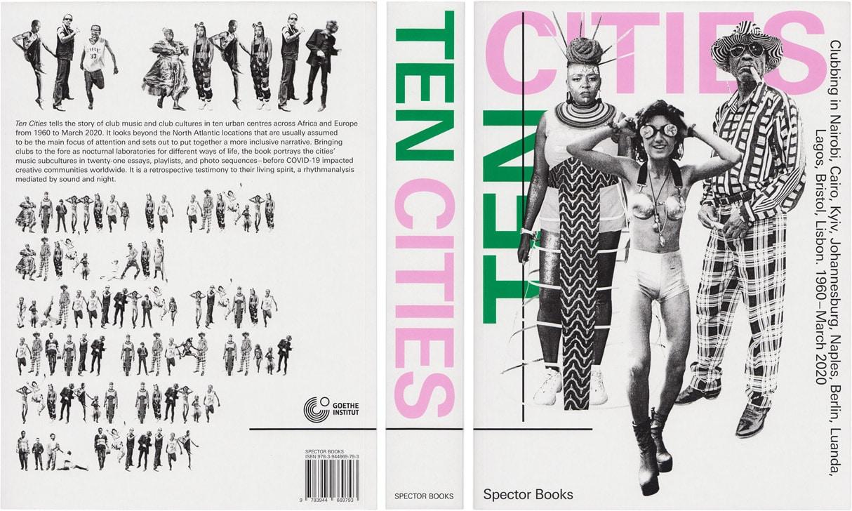 Buchcover-Design »Ten Cities«