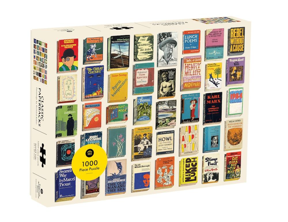 Puzzle »Classic Paperbacks«