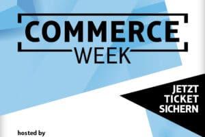 Tickets für Commerce Week