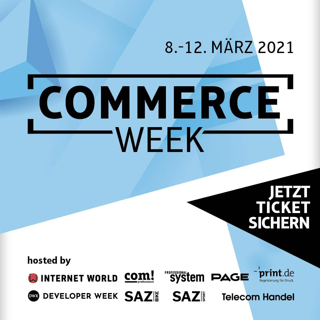 Tickets für Commerce Week