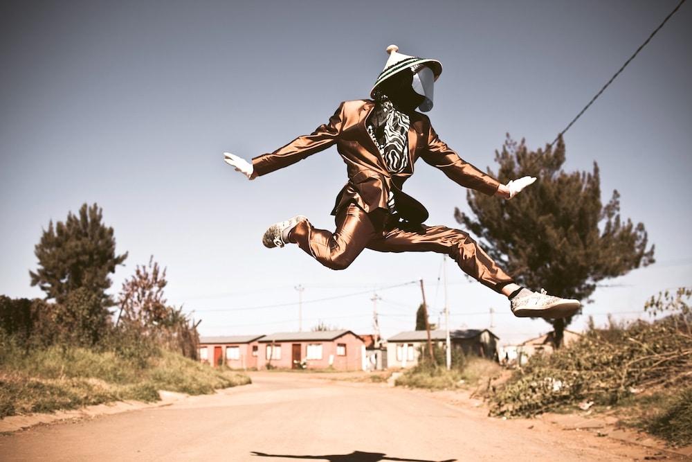 DJ Invizable, Johannesburg. Foto Chris Saunders