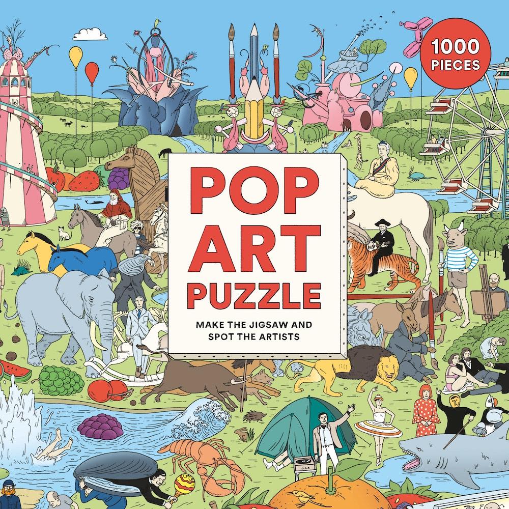 Pop Art Puzzle mit 1000 Teilen