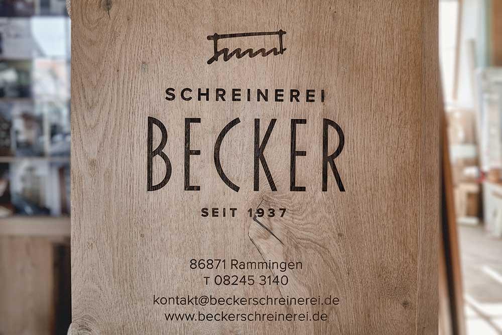 Tischler Schreinerei Becker