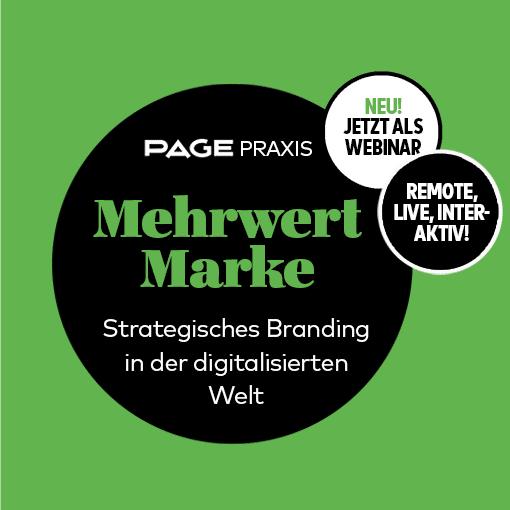 Webinar zum Thema strategisches Branding